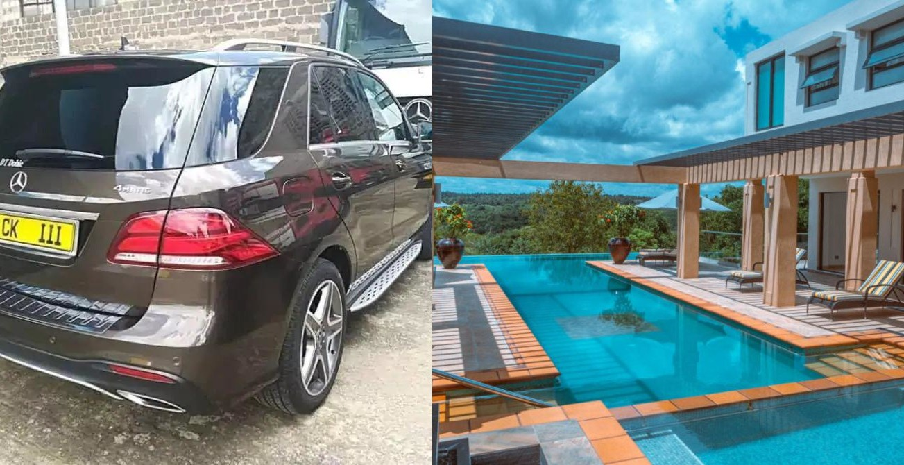 Chris Kirubi House and Cars