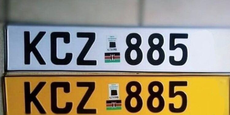 Customized Number Plates